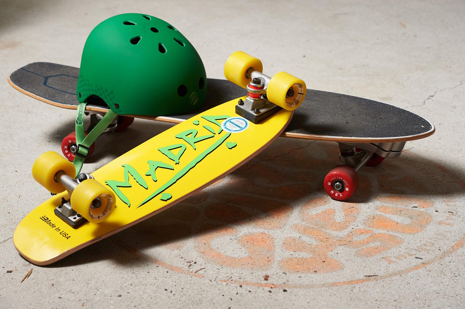 Skateboards Yow & Madrid