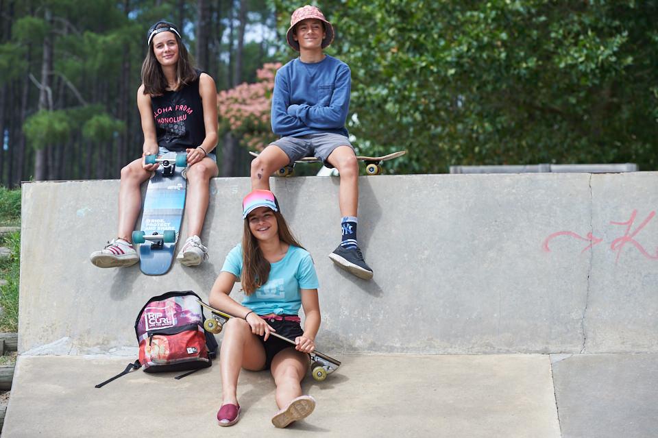 Jeunes skaters